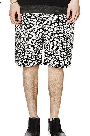 Spotted Floral Shorts - d'143 Men's Clothing