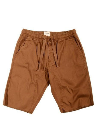 Tobacco Medium Drop-Crotch Everyday Shorts* - d'143 Men's Clothing