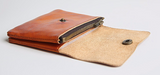 Classic Vintage Leather Wallet - d'143 Men's Clothing