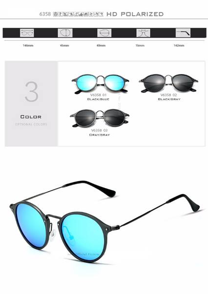 Mirror Coating Driving Polarized Sunglasses - d'143 Men's Clothing