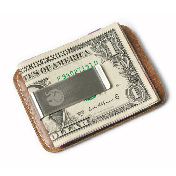 Slim Money Clip Leather Wallet for Men - d143 Mens Fashion