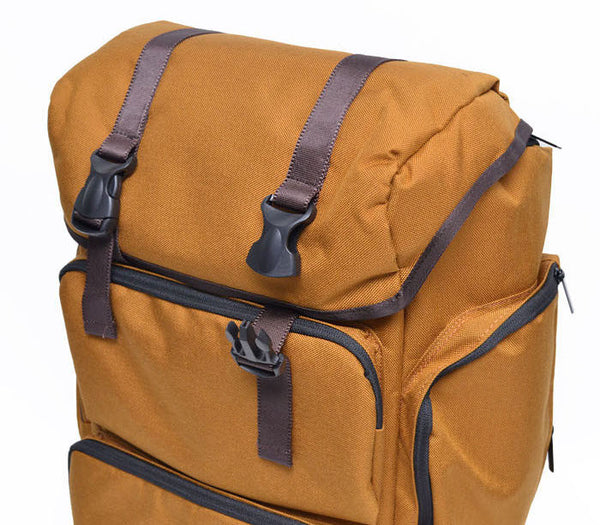 Multi-Cargo Canvas Backpack - d'143 Men's Clothing