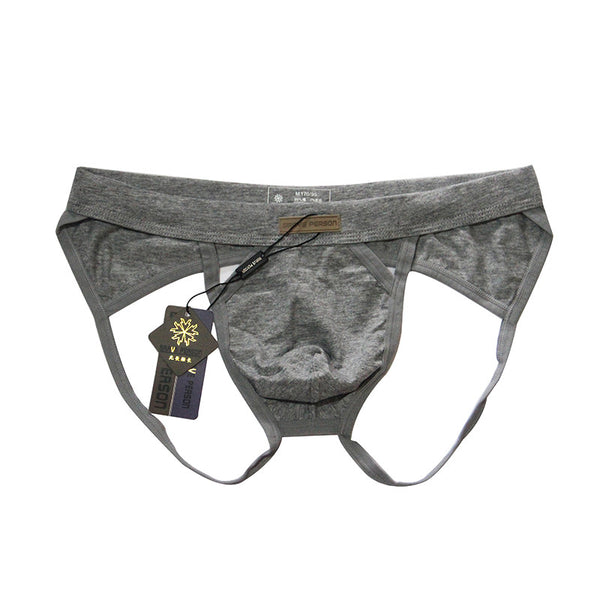 Breathable Cotton Brief Jock-Strap  Underwear - d'143 Men's Clothing