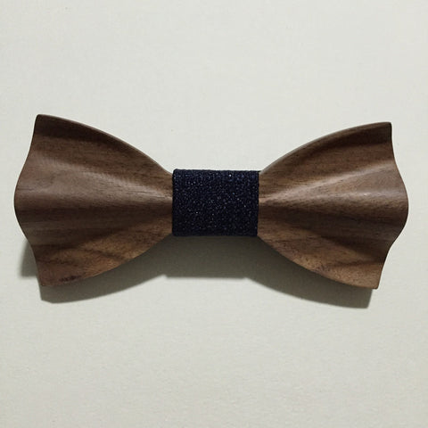 Handmade Wooden Bowtie - d'143 Men's Clothing