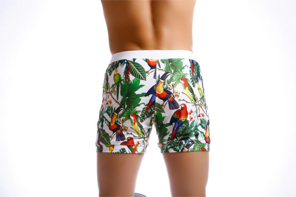 Tropical Quick-Dry Board Shorts