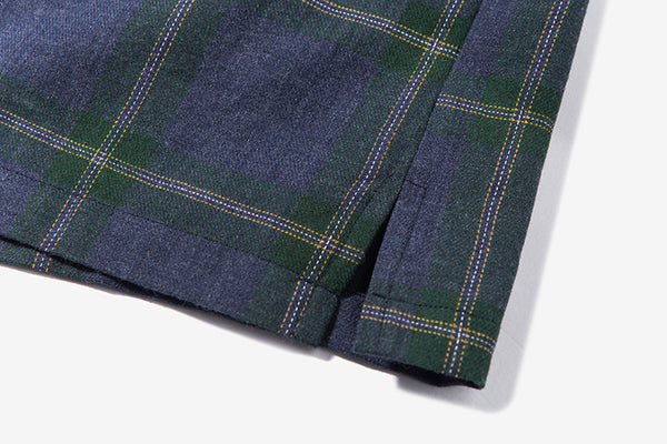 Japanese Kimono Inspired Lightweight Jacket for Men | PLAID - d'143 Men's Clothing