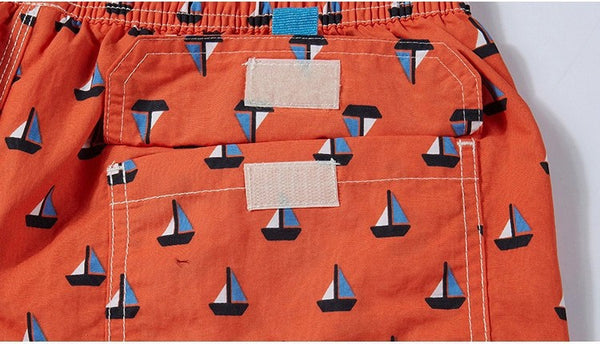 Quick-Drying Beach Board Shorts - d'143 Men's Clothing