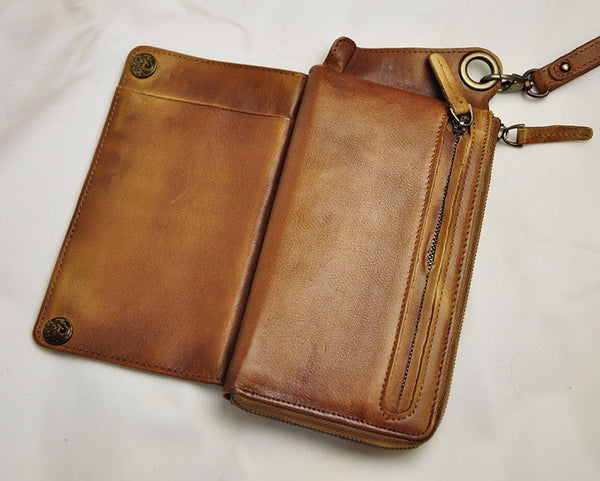 Phone Cases Leather Wallet - d'143 Men's Clothing