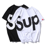 "Bamboo Fiber ""SUP""  T-Shirt for men - d'143 Men's Clothing"