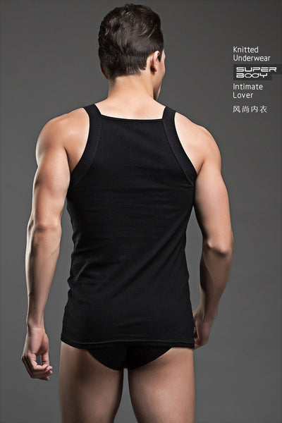 Sexy Vest Cotton Tank Top / Pajama Men's Undershirts - d'143 Men's Clothing