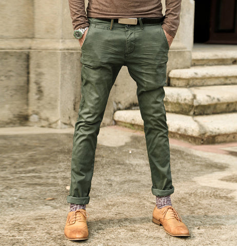 Retro Wash Old Army Slim Jeans - d'143 Men's Clothing