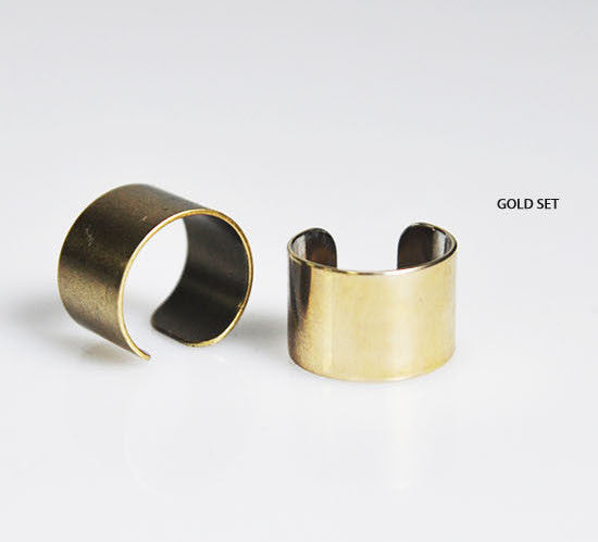 Mid-Finger Cuff Ring - d'143 Men's Clothing