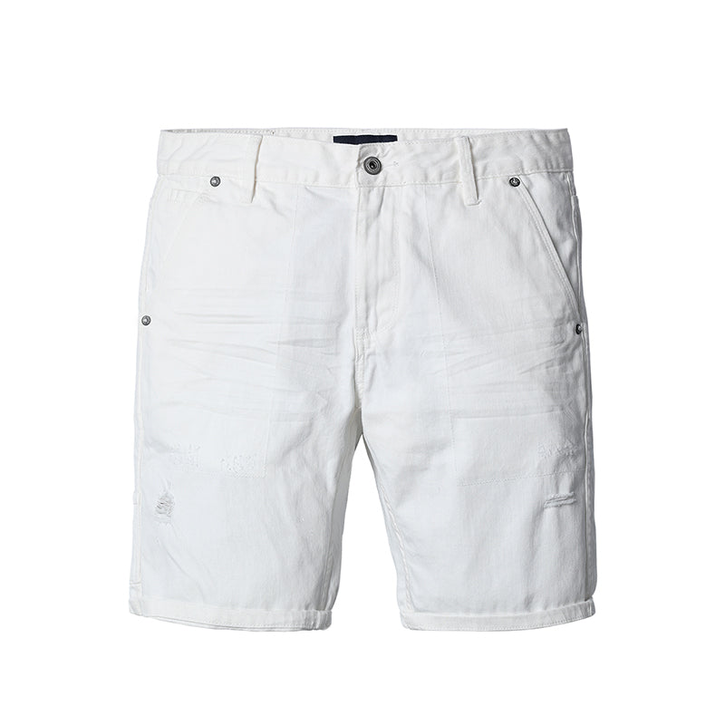 fab5ff08e8 White Denim Shorts for Men - d'143 Men's Clothing