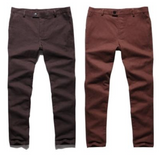 Solid Outdoors Long Casual Trousers - d'143 Men's Clothing