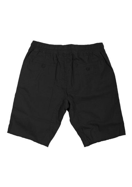 Black Medium Drop-Crotch Everyday Shorts* - d'143 Men's Clothing