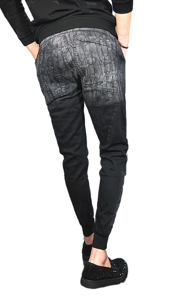Slim Fit Pencil Trouser Harem Pants for Men - d'143 Men's Clothing