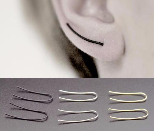 Long Stick piercing Earring - d'143 Men's Clothing