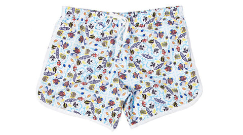 Beach Surfer Swimming Shorts - d'143 Men's Clothing