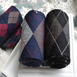 Plaid Multi-Color Nylon Stockings - d'143 Men's Clothing
