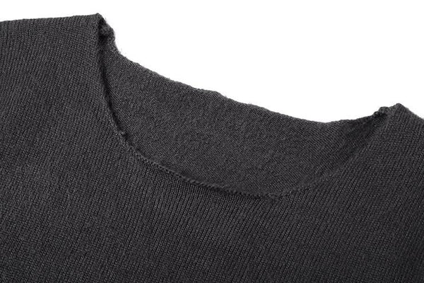 Loose Knitted  Wool Pullover Sweater - d'143 Men's Clothing