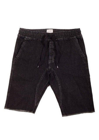 Charcoal Medium Drop-Crotch Everyday Shorts* - d'143 Men's Clothing