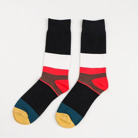 Striped Crew Socks - d'143 Men's Clothing