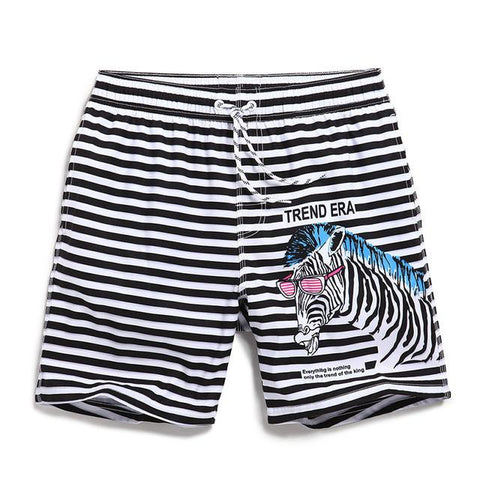 Lazy Zebra Bermudas Board Shorts for Men - d'143 Men's Clothing