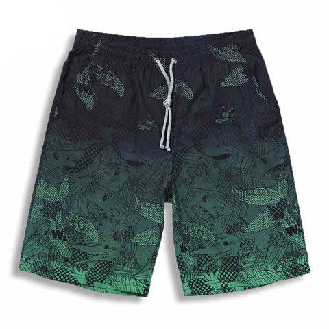 Quick Drying Beach Shorts for Men - d143 Mens Clothing