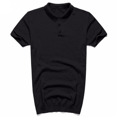 Slim Waist Breathable Polo Shirt - d'143 Men's Clothing