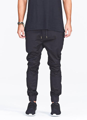 Harem Drop Crotch Joggers - d'143 Men's Clothing