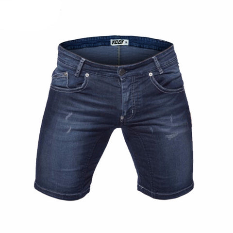 Midweight Low Waist Denim Shorts - d'143 Men's Clothing