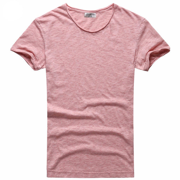 Casual Round Neck Breathable T-Shirt - d'143 Men's Clothing