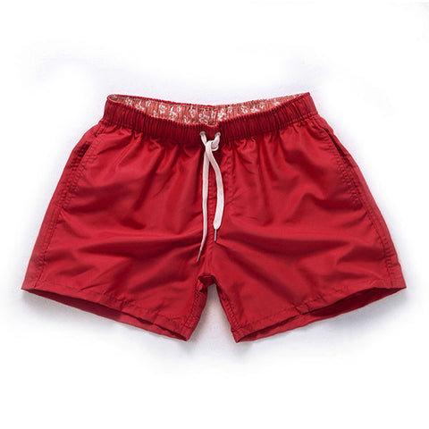 Quick Drying High Thigh Board Shorts - d'143 Men's Clothing
