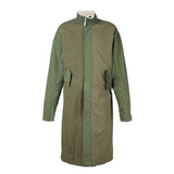 Thick Lamb Wool Long Trench Coat - d'143 Men's Clothing