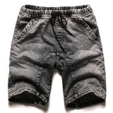 Fade-Wash Casual Summer Shorts - d'143 Men's Clothing
