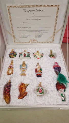 BIV-726 Old World Christmas Ornament Collection