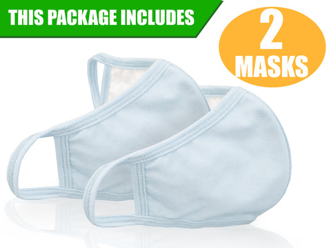 Premium Cloth Face Mask - 3 Layers