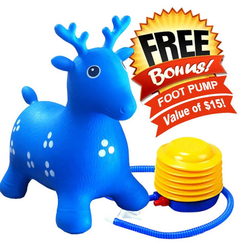 blue Bouncer Deer