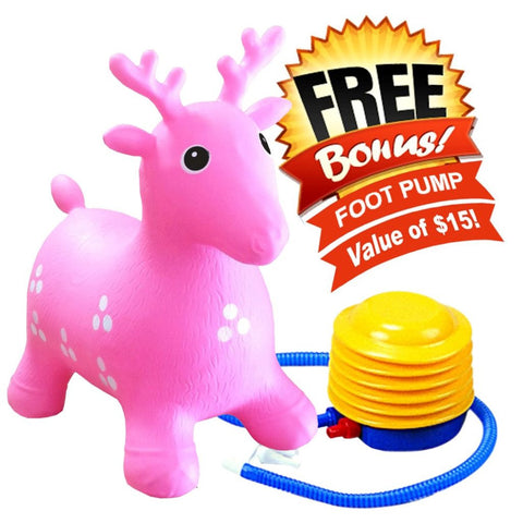 Inflatable Bouncer Deer