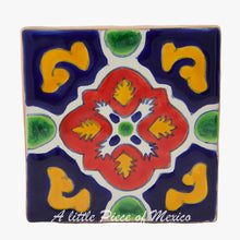 Talavera Coaster set of 4 - Berzaleth design