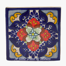 Talavera Coaster set of 4 - Adela design