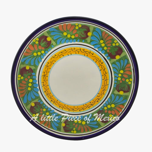Entree, salad or dessert plate - Rainforest Sunset