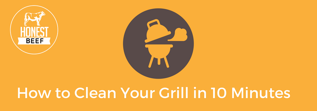 How to Clean Your Grill in 10 minutes