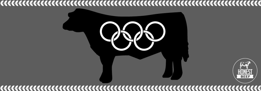 Angus Olympians: The reason Honest Beef only comes from Angus cattle.