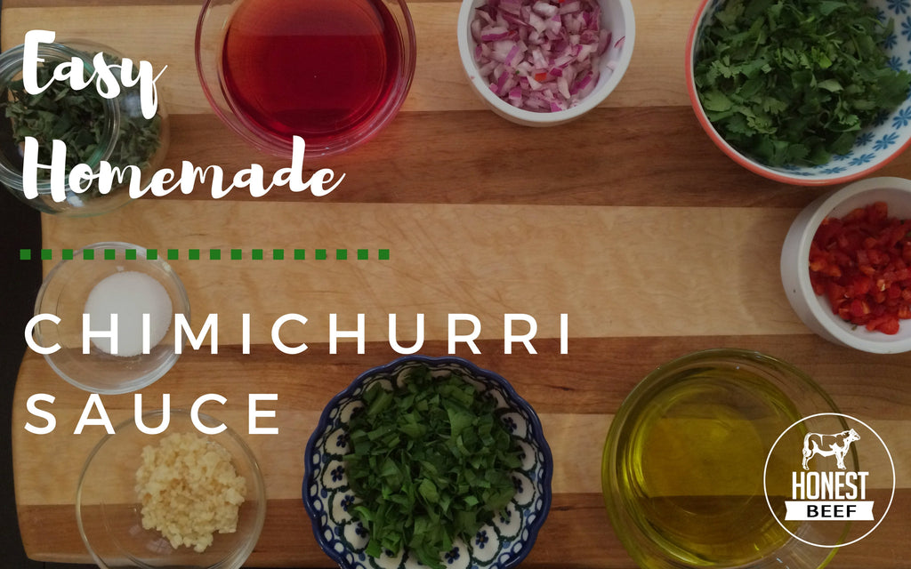 Easy Homemade Chimichurri