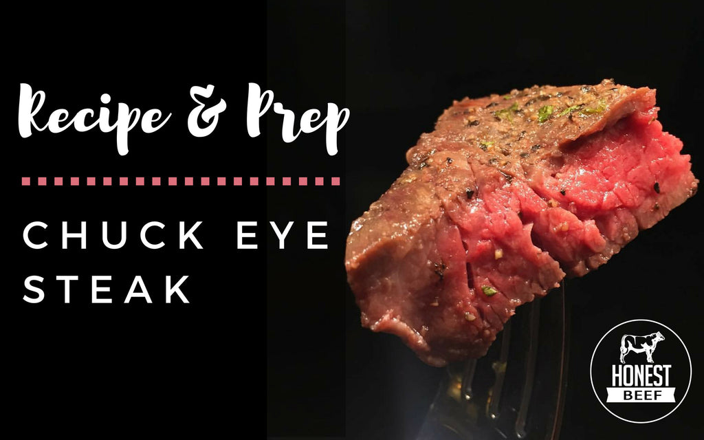 Chuck Eye Steaks with Carmelized Onions