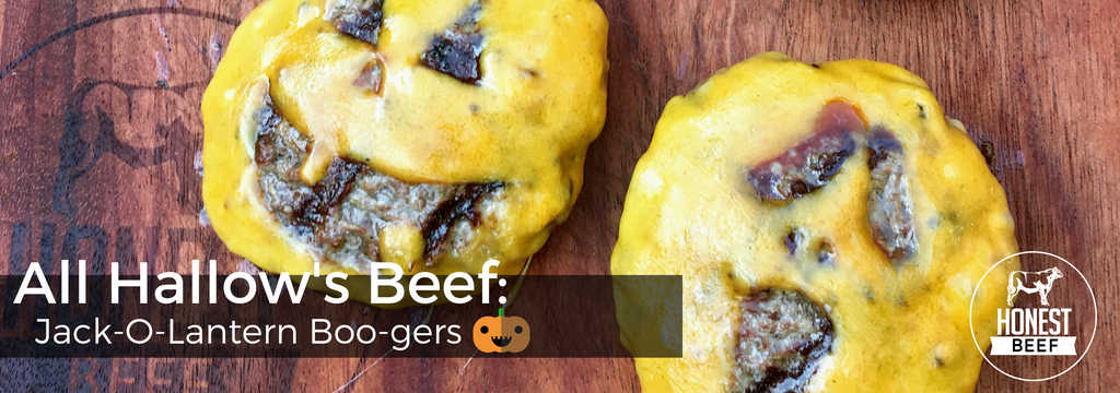 All Hallow's Beef: Jack-O-Lantern Burgers 🎃