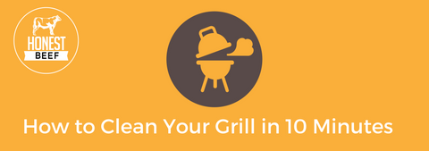 Honest Beef - How to Clean Your Grill in 10 minutes
