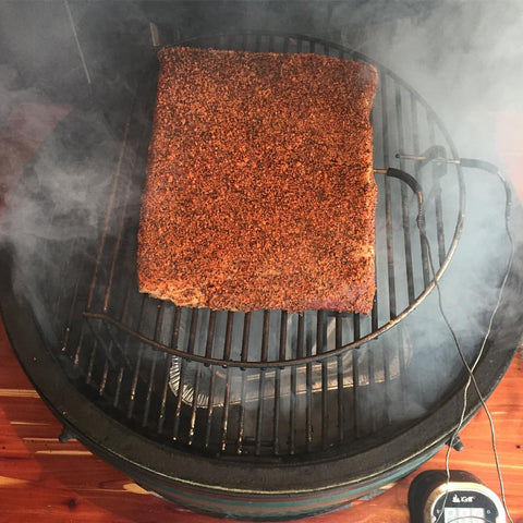 Honest Beef Brisket on Tim's BGE