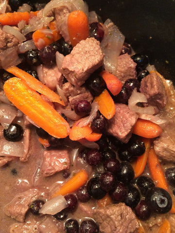 Honest Beef Blueberry Stew
